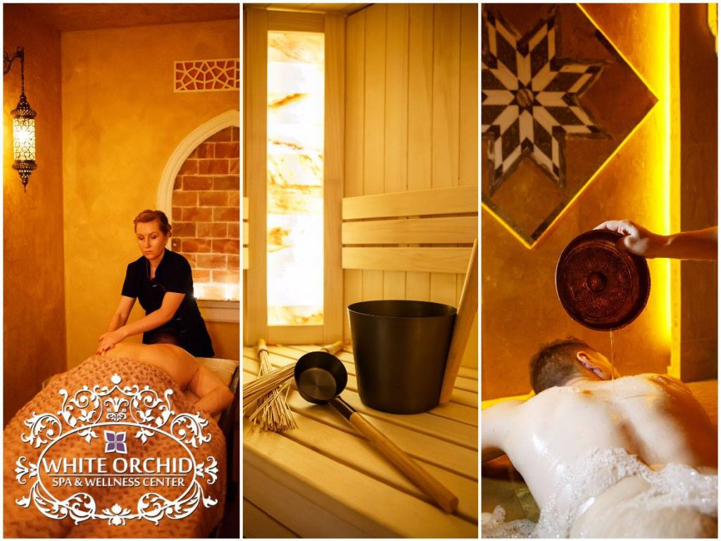 White Orchid Spa and Wellness center apie mus