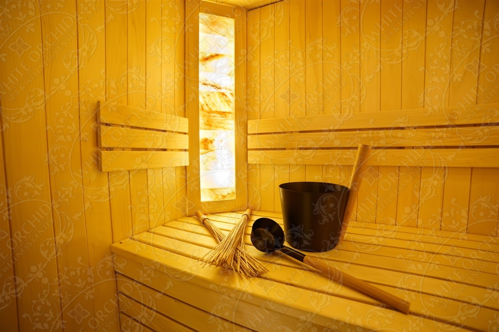 White Orchid Spa and Wellness center sauna ir masažas