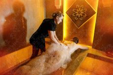 White Orchid Spa and Wellness center spa procedūros
