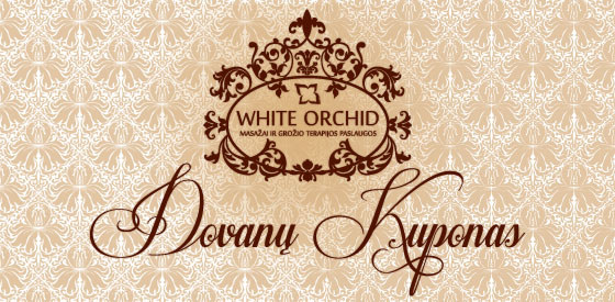White Orchid Spa & Wellness centre dovanų kuponas 1